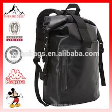 Bolso seco elegante impermeable de la mochila del viaje de la lona para caminar