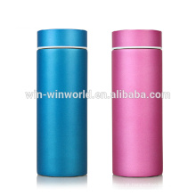 Copo Thermo de aço inoxidável personalizado com chá infusor