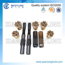 Retrac T51 115mm and 127mm Diameter Drill Bit