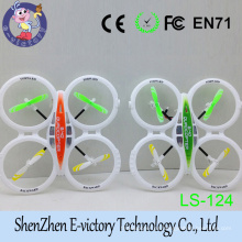 2,4 Ghz 4 canales 6 eje exterior Quadcopter RC helicóptero