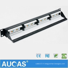UTP Cat5e 24 port krone Patch Panel