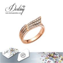 Destino joyería cristal de Swarovski anillo anillo de vuelo