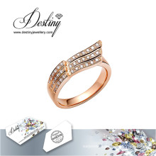 Destiny Jewellery Crystal From Swarovski Ring Flying Ring