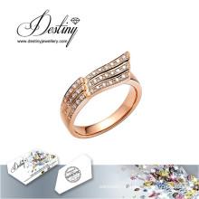 Судьба ювелирные изделия кристалл от Swarovski кольца Летающий кольцо