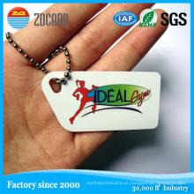 Personalizado PVC impresso Tag NFC com Ntag203 Chip