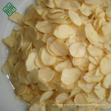 Ar seco 100% branco desidratado tempero flocos de alho