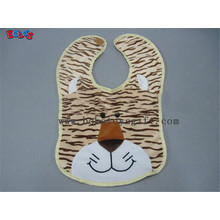 "13""Custom Bibs Plush Tiger Animal Baby Bibs"