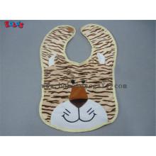 "13""Custom Bibs Plush Tiger Animal Baby Bibs"