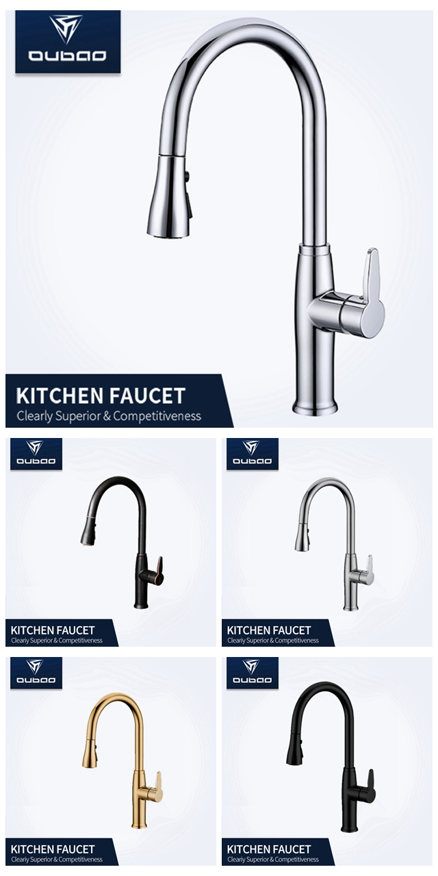 KITCHEN FAUCET OB-D36A-CR