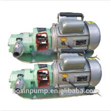 WCB Typ Edelstahl Mini tragbare elektrische Zahnradpumpe Öl