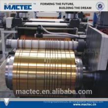 Neue Art hohe Qualität Aluminium Spule Schneidemaschine Preis