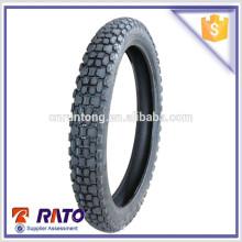 Un pneu de moto promotionnel de bonne qualité 3.00-18 Type de boîtier de pneu pneu de moto sans chambre à air