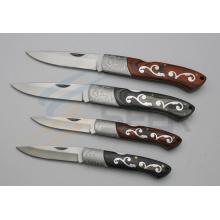 Couteau de verrouillage arrière de la poignée de motif (SE-400)