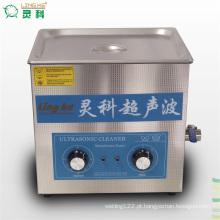 Limpador ultra-sônico com aquecedor e temporizador