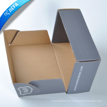 Caja de papel impresa personalizada del zapato de la cartulina