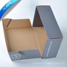 Caixa de papel de sapato de papelão impresso personalizado