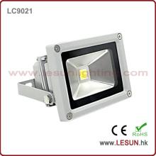 Luz de inundación de 10W IP65 LED para exteriores (LC9021)