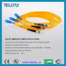 FC-St оптоволоконная перемычка, соединительный кабель