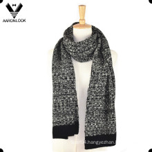 Men′s Acrylic Jacquard Machine Knit Scarf