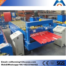 Factory supply Trapezoidal metal roof panel roll forming machine