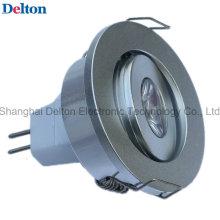 Projector redondo diodo emissor de luz de 1W Dimmable (DT-SD-017)