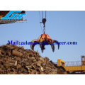 Electro Hydraulic Orange Peel Grab for Waste Steel & Garbage