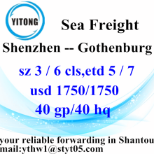 Shenzhen Professional Forwarder Penghantaran ke Gothenburg