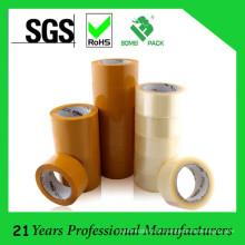 Fita adesiva de baixo nível de ruído de BOPP, fita de embalagem ou selagem da caixa