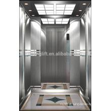 O mais novo elevador de passageiros quente com sala de máquinas menos
