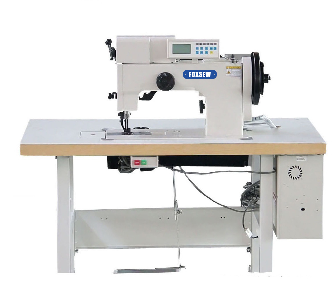KD-204-106S Single Needle Computer Heavy Duty Thick Thread Ornamental Stitch Sewing Machine