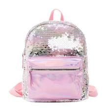 2020 New Cute Kids Baby Girls Mini Backpack School bag Sequins Backpack For Toddler