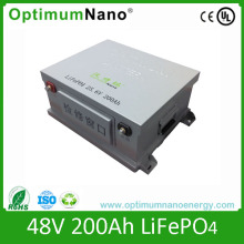 Cylindrical Battery 48V 200ah Li-ion Battery Pack