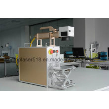 Caixa do telefone móvel laser máquina de impressão / plástico máquina de marcação a laser