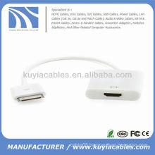 Dock Connector to HDMI Adapter for iPhone 4 4s iPad iPad2 iPad3