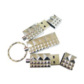 Waterproof Metal 32GB USB Flash Drives Key Chain