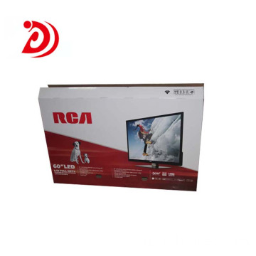 60 inch TV colored cardboard box