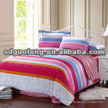 cotton100% 40 * 40 110 * 90 Tela de algodón egipcio sábanas de lino material