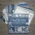 "Travel Design Printing Bricolage 12 X 12 ""Scrapbook Paper Pack"
