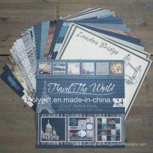 "Diseño de viajes Impresión DIY 12 X 12 ""Scrapbook Paper Pack"