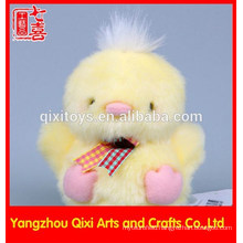 Mini soft stuffed and plush chicken yellow easter chick wholesale