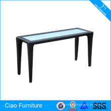 Long Size Outdoor Rattan Table