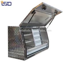 Wasserdichte Aluminium-Karosserieplatte Truck / Pickup Tool Boxes