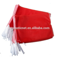 Plastic vegetable mono mesh bags for packing potatoes and onions