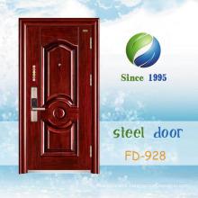 China Newest Develop and Design Single Steel Door (FD-928)