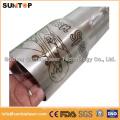 Dispositivos de marcado láser de metales / Máquina de marcado rotativo con láser / Grabador de láser de tubo