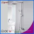 Fyeer Ванная комната хромированный Латунь дождевой душ установить (QH336-1)