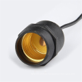 Black Hanging Light Cord with E26 Socket