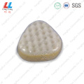 Triangle special bath sponge tools
