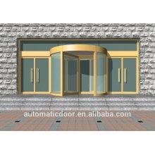 Puertas de vidrio giratorias automáticas comerciales DPER