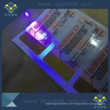 Anti-Fälschungs-heißer Stempelnhologramm-Papier-Aufkleber